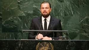 Actor Leonardo DiCaprio in Climate summit 2014