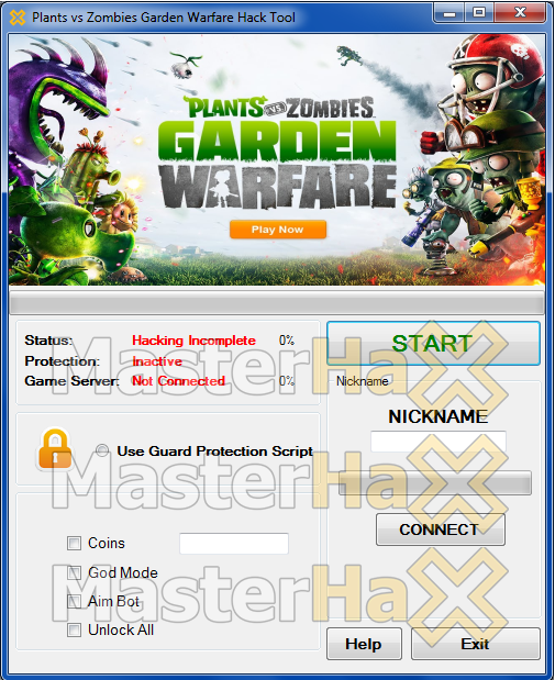 Plants vs Zombies Garden Warface Hack & Cheat