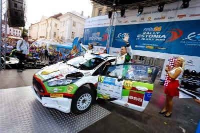 Marco Tempestini si Nicola Arena - Ford Fiesta R5 - Raliul Estoniei 2014