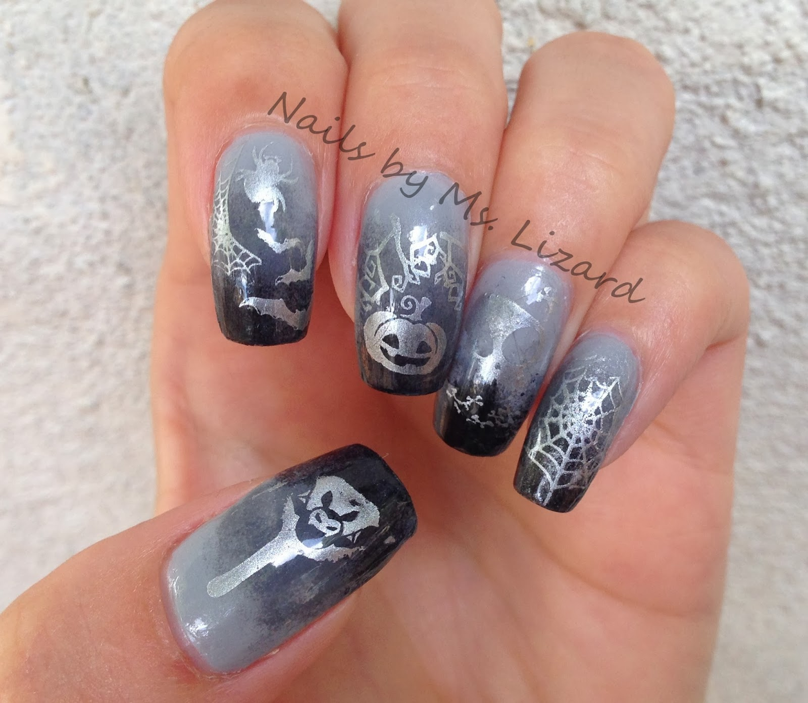 Nails by ms lizard ms lizards super awesome halloween nail art ms lizards super awesome halloween nail art contest prinsesfo Choice Image