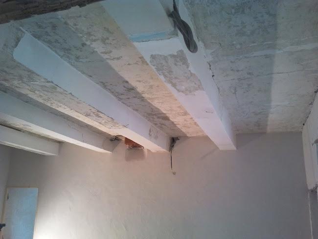 Plafond ancien dans mas