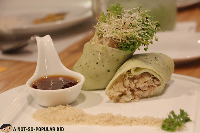 Lumpia Presko of Kuya J Restaurant