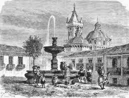 ARQUITECTURA COLONIAL DE QUITO DIBUJOS DE IGLESIAS TRADICIONALES