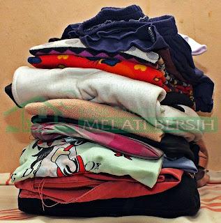 Kompos Pakaian Bekas