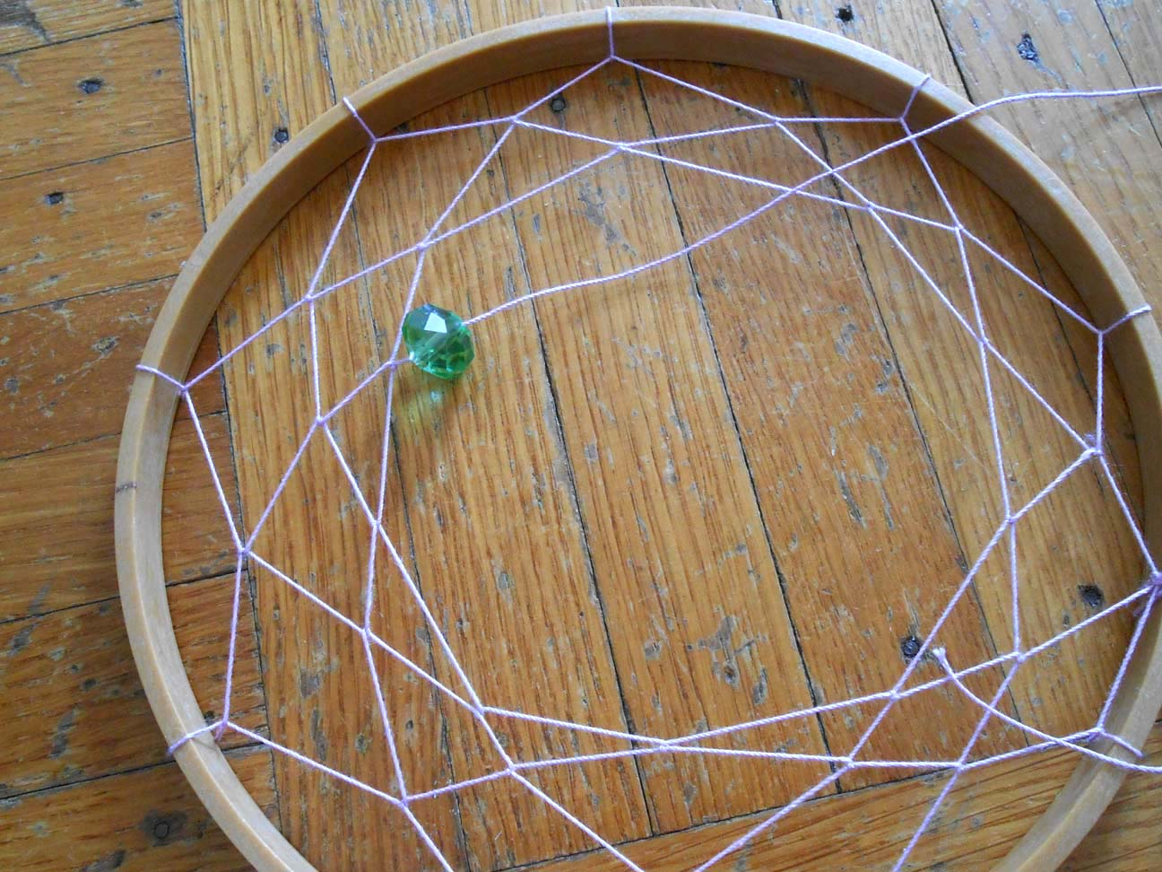 We can re do it embroidery hoop dream catcher for How do u make a dreamcatcher