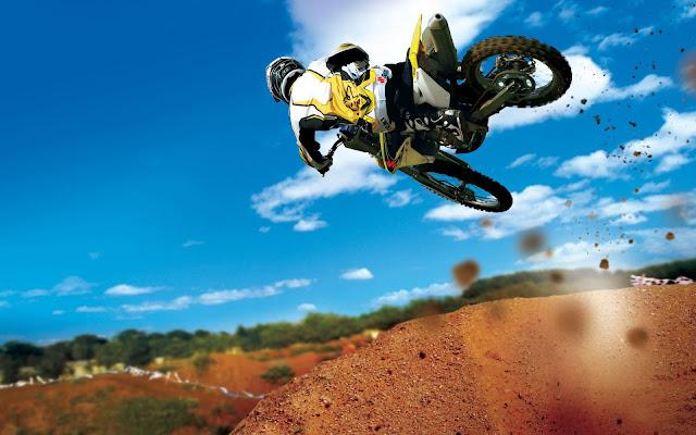 fondo de pantalla motocross