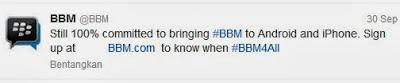 BBM Twitter