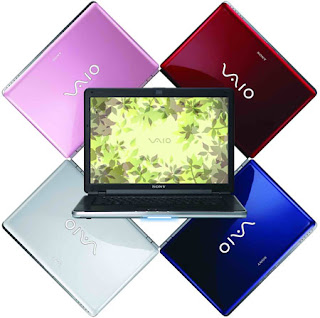 Harga Laptop Notebook Sony Vaio 2012