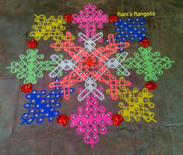 Rani's Rangoli with Dots