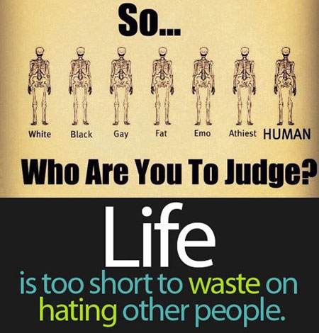 Don't hate someone