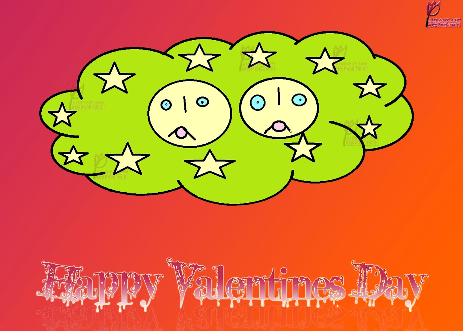 Happy-Valentines-Day-Wallpaper-Wishes-With-Cloud-Cartoon-Image-HD-Wide