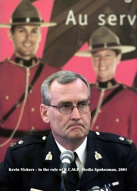 Kevin Vickers - R.C.M.P. career officer