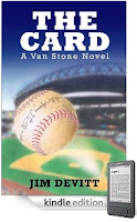 Kindle eBook of the Day: 4.6 Stars and Just $2.99 on Kindle – Jim Devitt's thriller THE CARD Brings You Behind the Scenes of Pro Baseball in a Mystery That Will Keep You Guessing Until the Final Scene