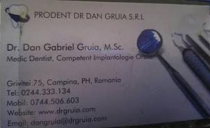 30. DR. DAN GRUIA CAMPINA