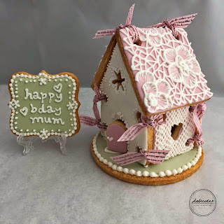 cookie house, birthday cookie house, mothers day gift