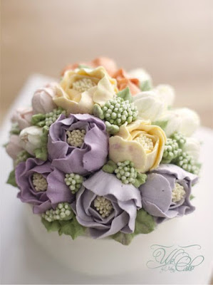 kahwin, list kahwin, buttercream flower cake, flower, flower cake, kek bunga, kek cream, kek sedap, cantik, wedding, flower wreath,