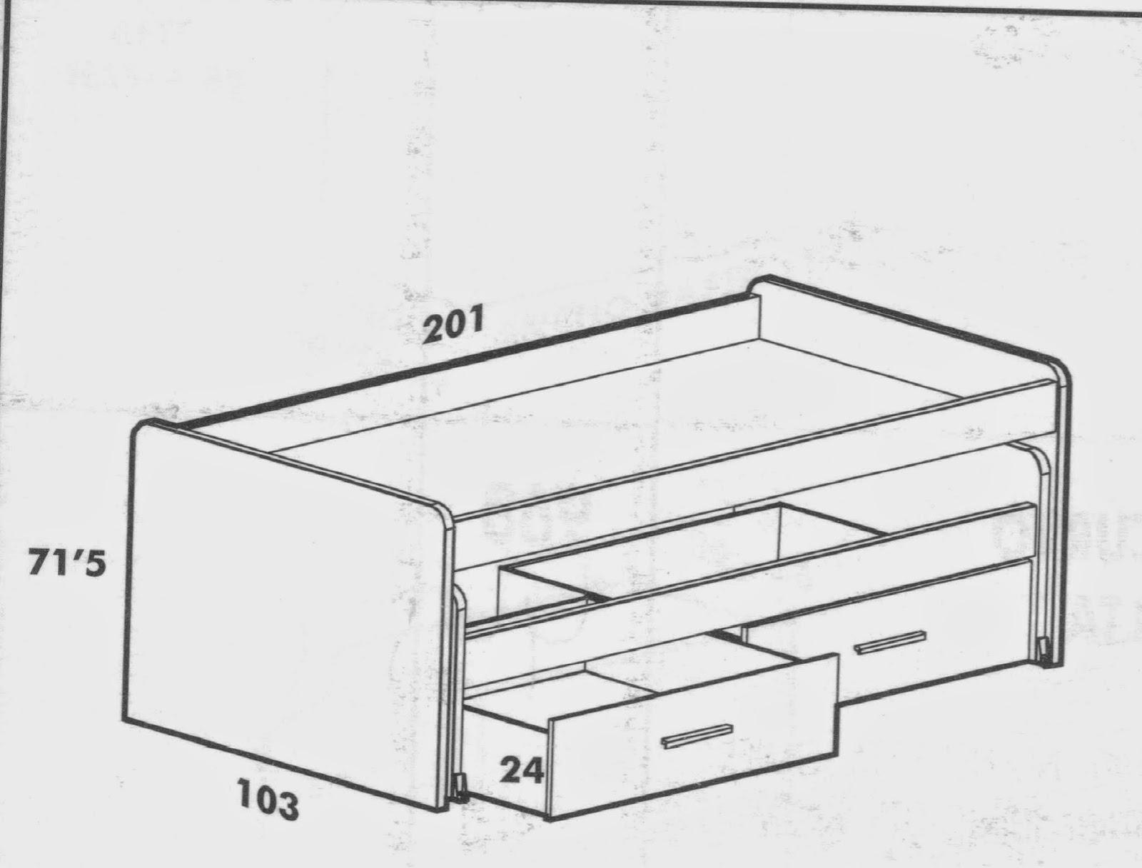 Dormitorios juveniles i elegir una cama compacta for Cual es la medida de una cama queen