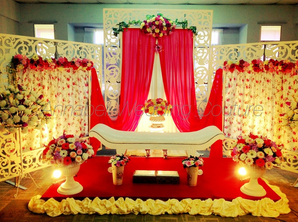 Annabell Wedding Couture Pelamin English Style