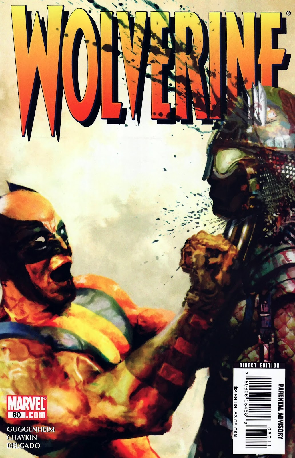 Read online Wolverine (2003) comic -  Issue #60 - 1