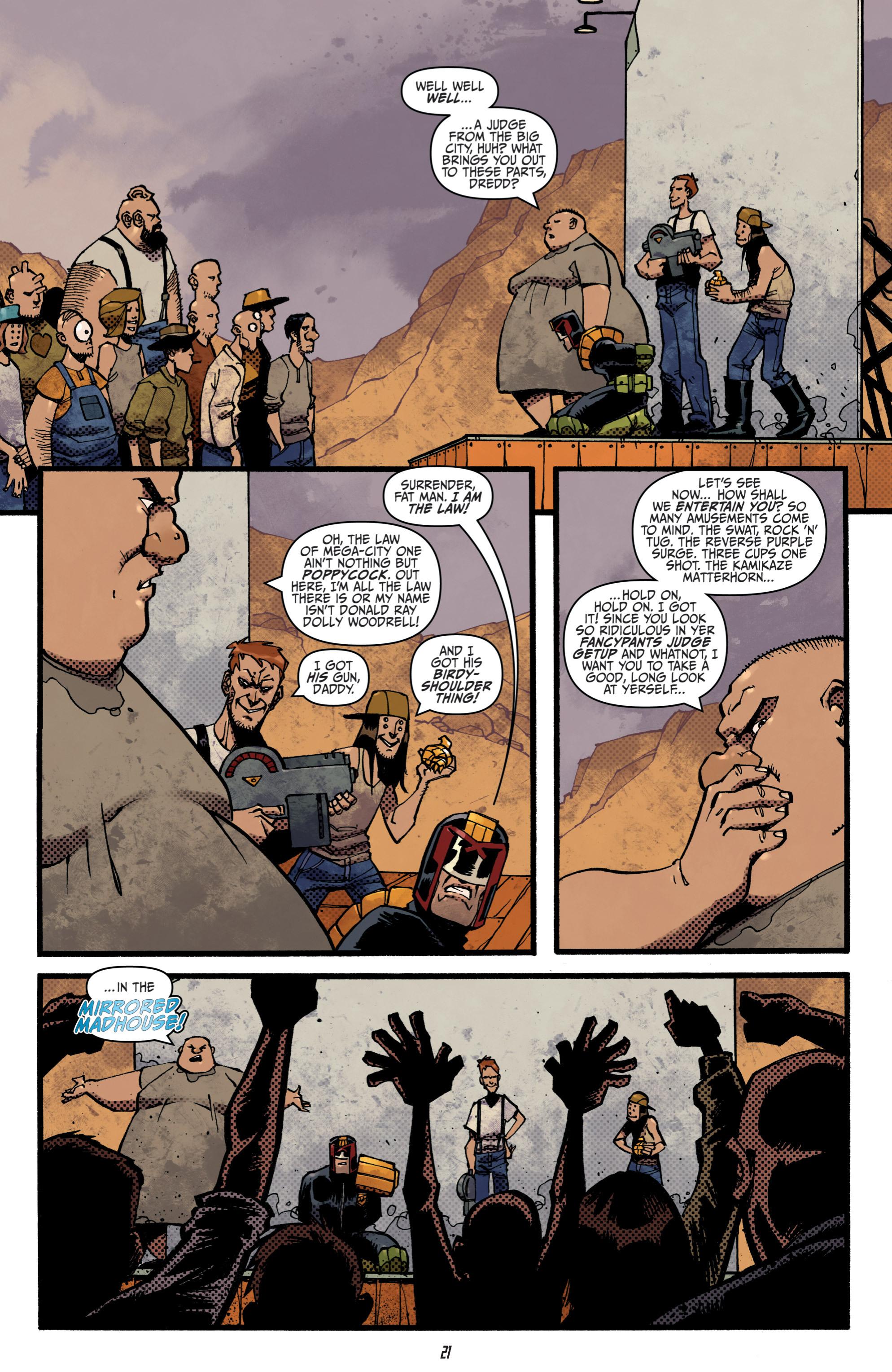 Read online Judge Dredd (2012) comic -  Issue # _TPB 3 - 21