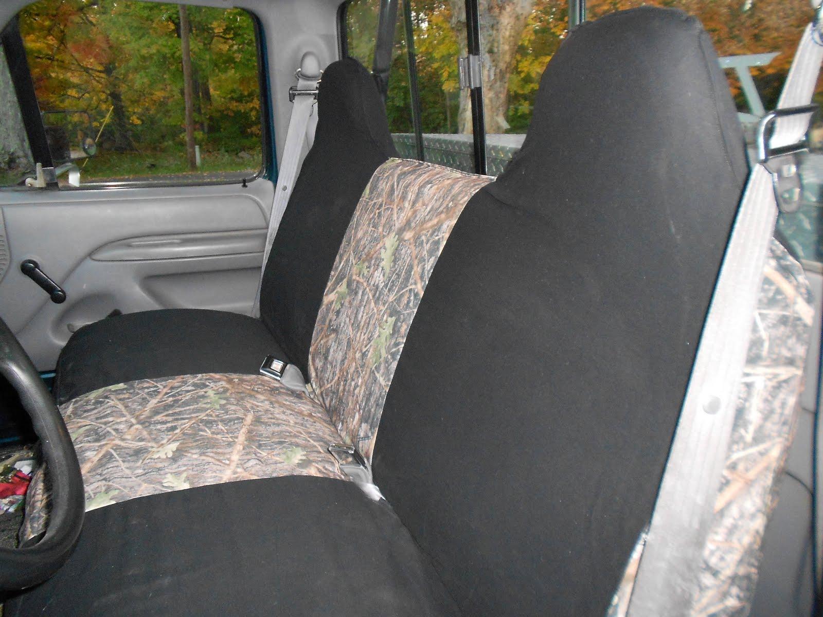 The Hopeful Hippie Camo Seat Covers