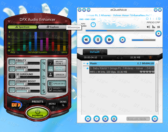 DFX Audio Enhancer 11.400 Terbaru screenshot
