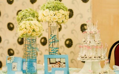 Trang trí tiệc cưới hỏi