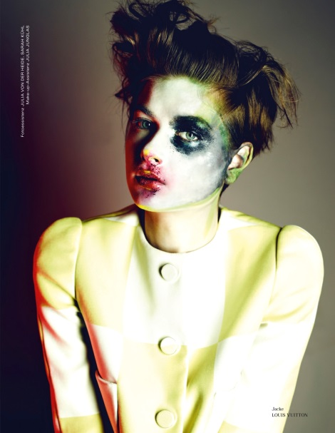 Bo Don by Markus Jans with smudged makeup
