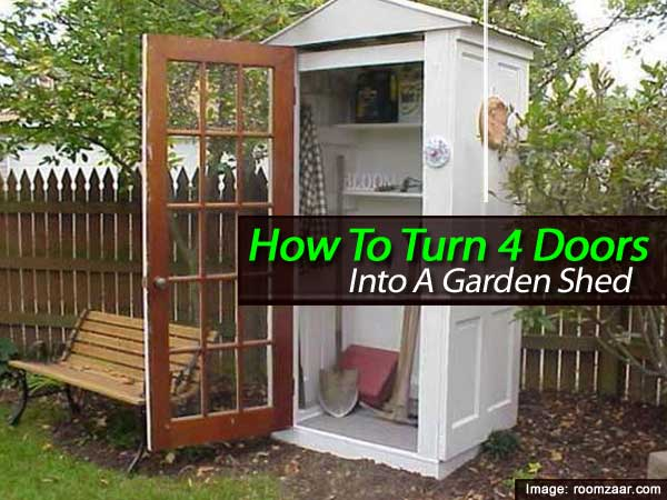 Build a Garden or Tool Shed from Recycled Doors & Build a Garden or Tool Shed from Recycled Doors - Creative Green ... Pezcame.Com