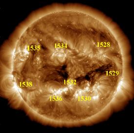 Manchas solares 01 de Agosto 2012