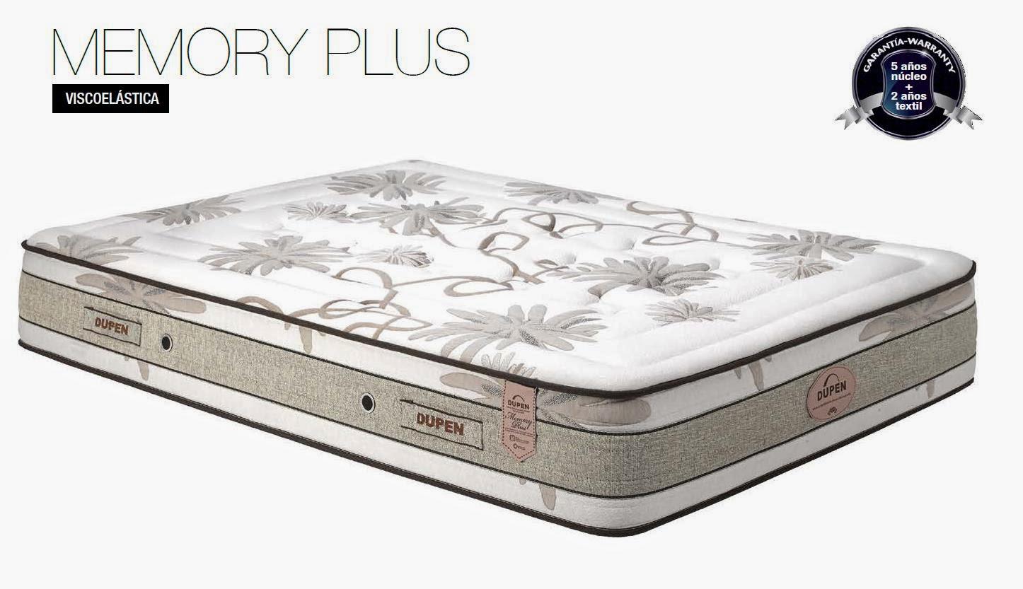 Ver colchón Dupen Memory Plus