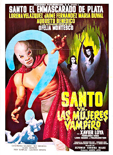 Santo in 'The Treasure of Dracula' (Santo en El tesoro de Drácula aka