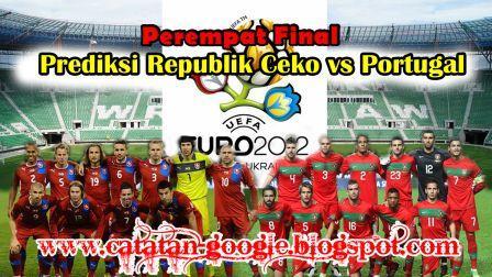Prediksi Republik Ceko vs Portugal Perempat Final