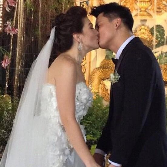 Carmina and Zoren take their vow in surprise wedding - NewsTrendzPh