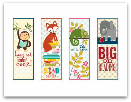 Stampin' Up! Book Buddies Digital Download Bookmarks Template