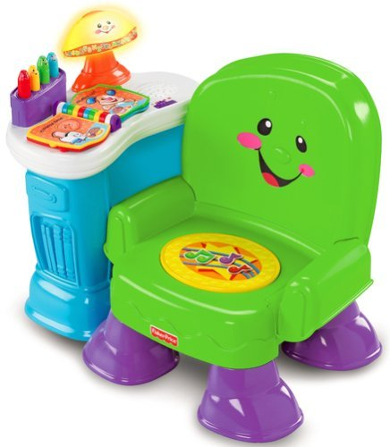 Oldstreetshop fisher price laugh n learn song n story chair for Chaise musicale