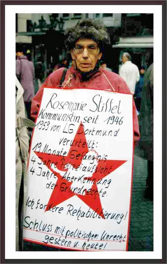 In Erinnerung an Rosie Stiffel