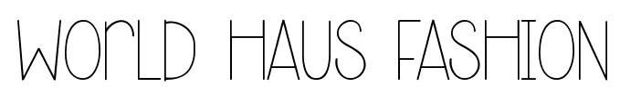 world haus fashion