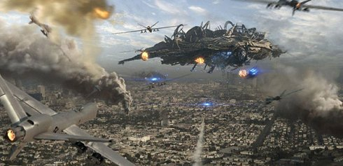 battle los angeles alienship THE WARMONGER RACE AND WEAPONIZATION OF EVERYTHING