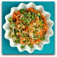 Gluten-Free Sweet and Sour Thai Cucumber Spiral Pasta Salad