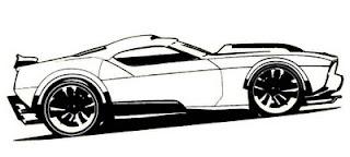 Desenhos do Hot Wheels para imprimir