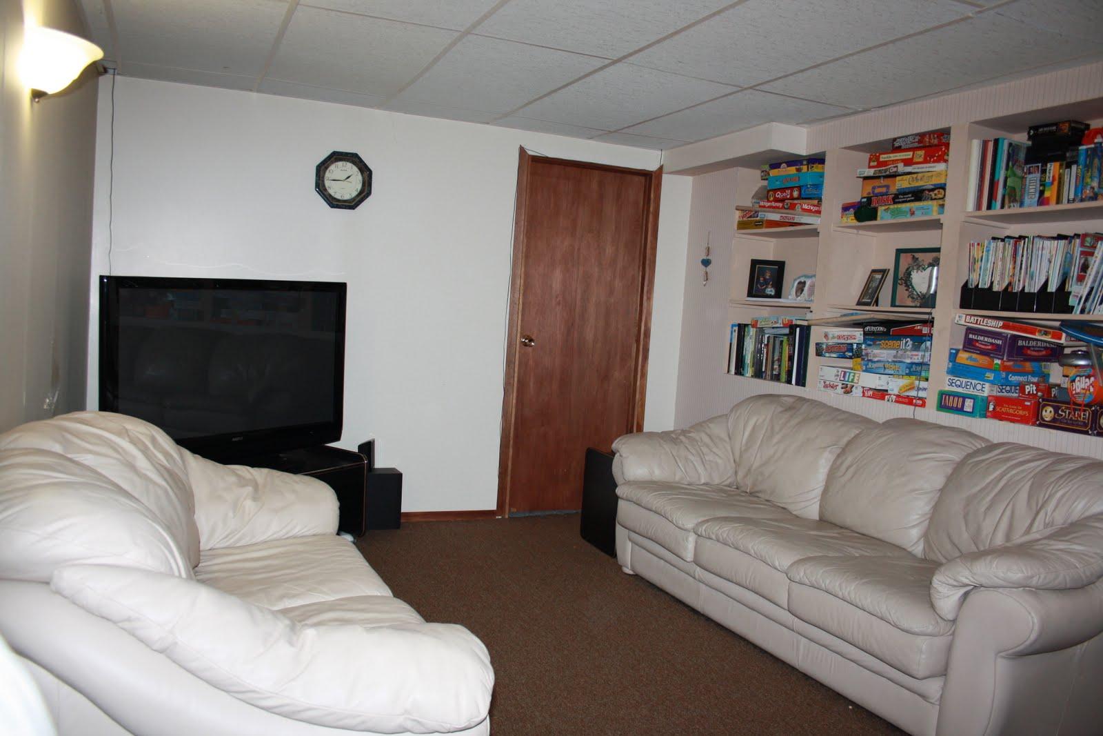 The Long Way Around Basement Rec Room