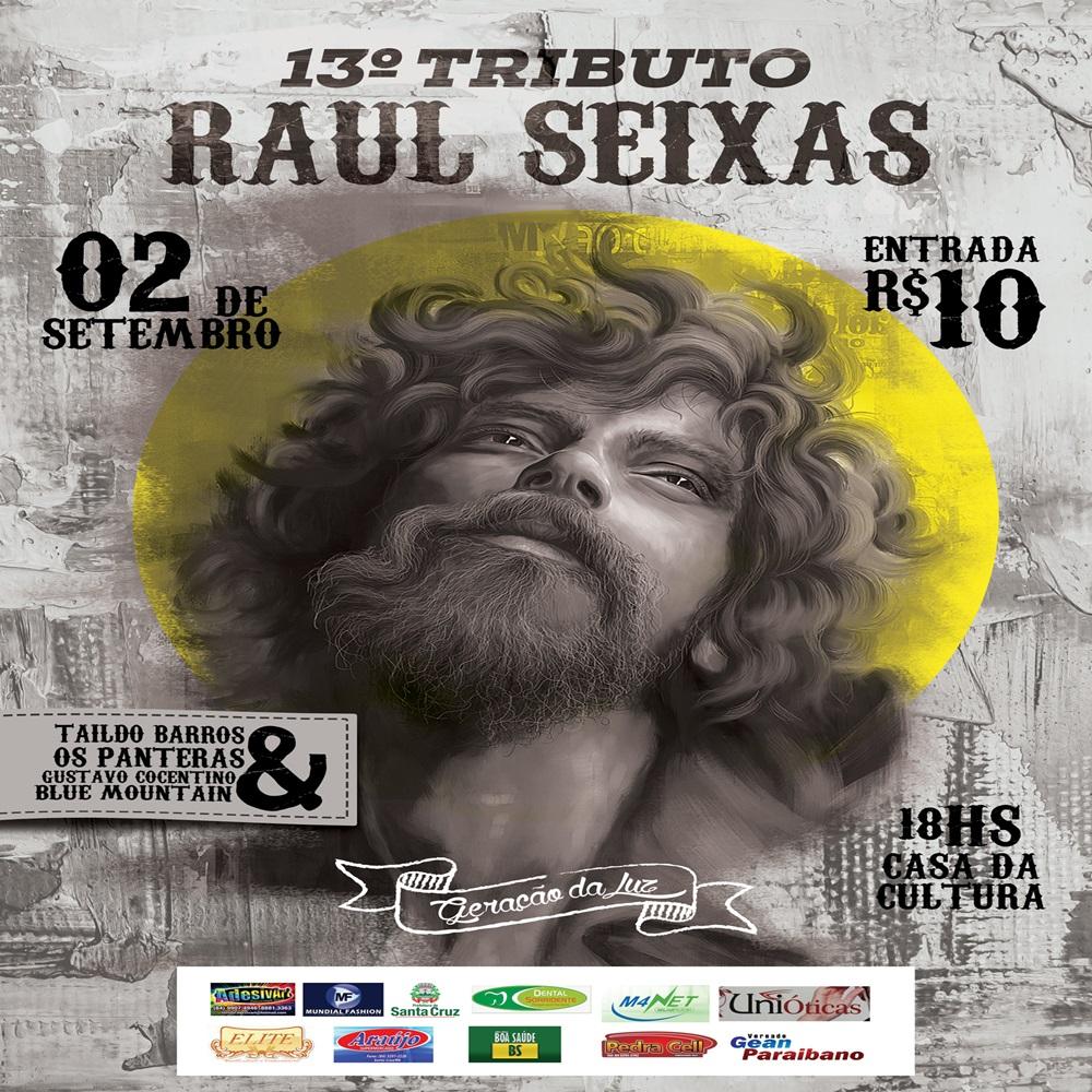 13° TRIBUTO RAUL SEIXAS