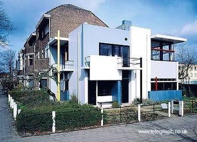 Casa residencial Neoplasticista