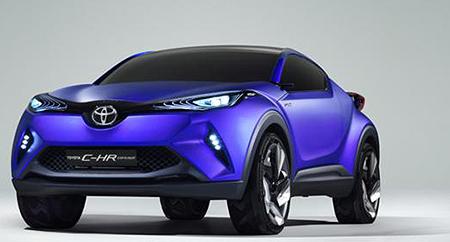 2015 Toyota C-HR Concept Canada