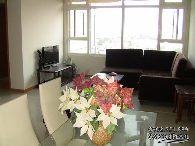 Cho thuê căn hộ 86m2 tòa nhà Ruby 2 | sofa