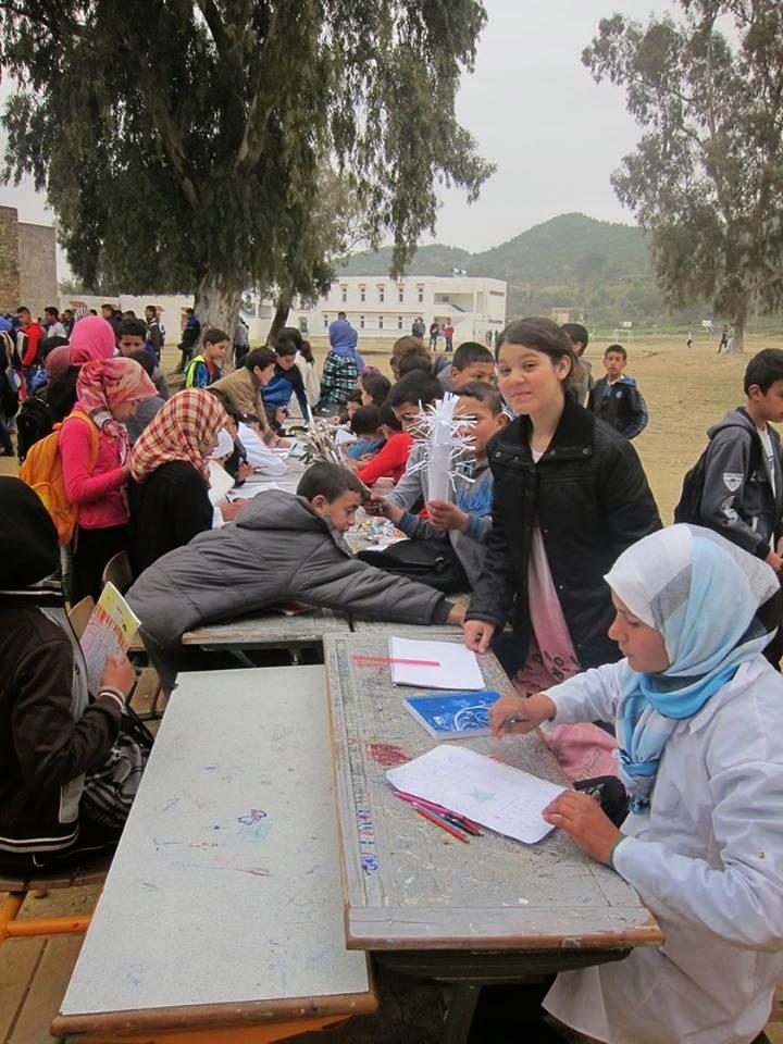 إعدادية محمد السادس و ثانوية مقريصات تخلدان اليوم الوطني للمجتمع المدني