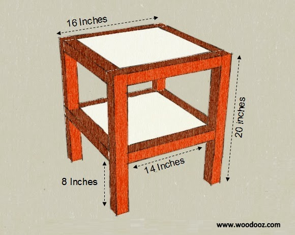 Measurement for table
