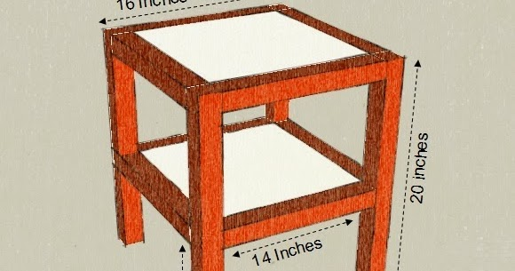 New Side Table Design dimensions materials and tools Step Indian Woodworking DIY Arts Crafts Blog