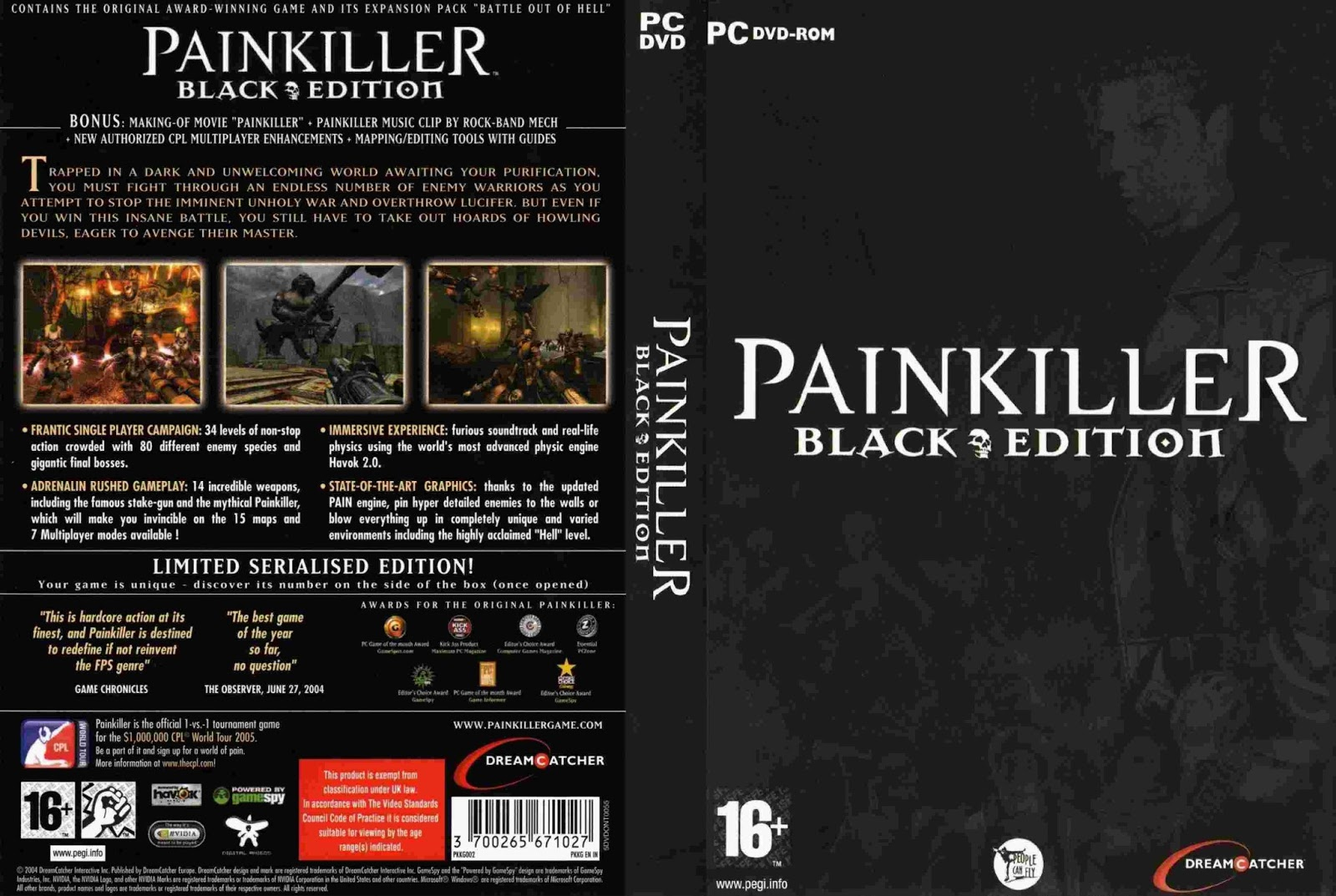 Req painkiller black edition pc review